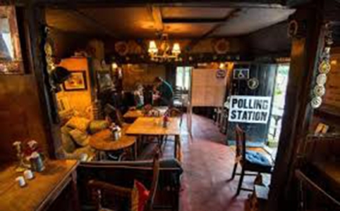 The quaintest polling station in England