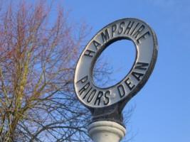 Hampshire Priors Dean sign