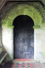 Priors Dean Church, entrance door